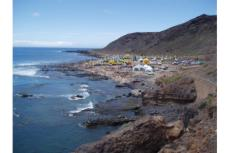 El Ministerio de Medio Ambiente refuerza la protección de la playa de El Confital y aleja el tráfico del litor