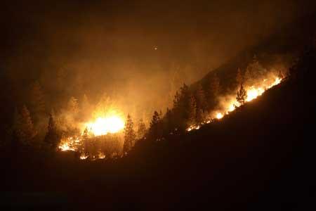 Los incendios de Canarias elevan a 12.000 los evacuados y 35.000 hectáreas quemadas