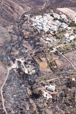 El Gobierno da 21,3 millones a las ayudas por los incendios