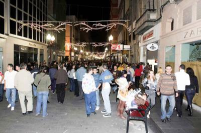 La noche de Reyes deja 225 toneladas de basura en Triana y Vegueta