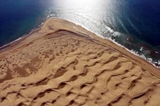 Las dunas de Maspalomas desaparecerán en 90 años