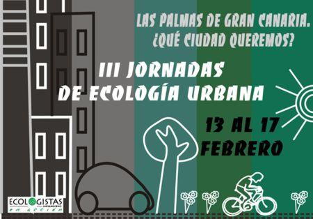 III JORNADAS DE ECOLOGIA URBANA