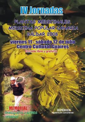 INTERESANTE JORNADAS DE PLANTAS  MEDICINALES EN GÁLDAR
