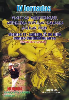 INTERESANTES  JORNADAS DE PLANTAS MEDICINALES EN MEDICINA POPULAR CANARIA