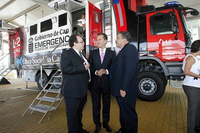 Canarias cuenta con un ''camión inteligente'' para gestionar las emergencias