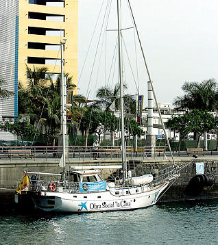 El velero ´Íbero´ emprende en Canarias el estudio y rescate de especies en extinción