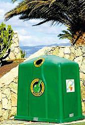 Canarias, a la cola en reciclaje