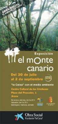 """Exposición medioambiental """"El monte canario"""" hasta el 11 de enero en la ermita de San Pedro Mártir de Telde"""
