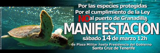 El puerto de Granadilla pide 31 millones a los ecologistas por la paralización de las obras