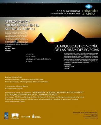 Museo Elder. Ciclo Astronomía y Civilizaciones