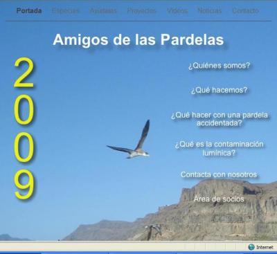 WEB DE AMIGOS DE LAS PARDELAS