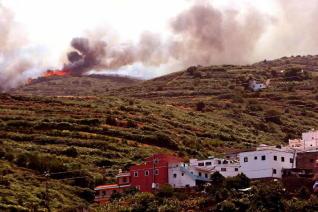 Tenerife sufrió el 25% de los fuegos de Canarias desde 2000