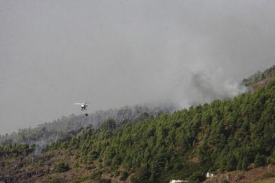 Canarias pide medios antiincendios al Gobierno central