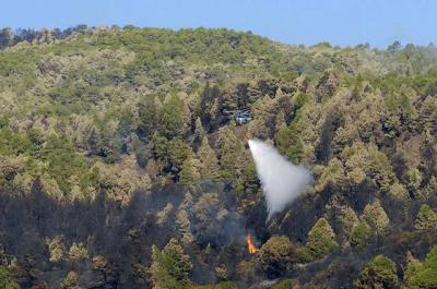 ver imagenes  del incendio en el canarias7