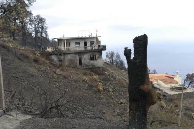 Las lluvias permiten declarar extinguido el incendio de La Palma a los 52 días de propagarse