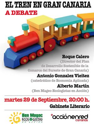 Las Palmas de G.C.: El Tren de Gran Canaria a debate