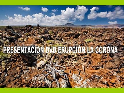 Invitación presentación DVD erupción La Corona