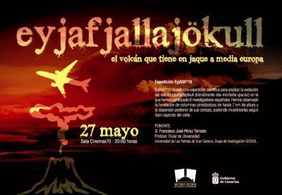 """Museo Elder: conferencia """"El volcán que tiene en jaque a media Europa"""""""