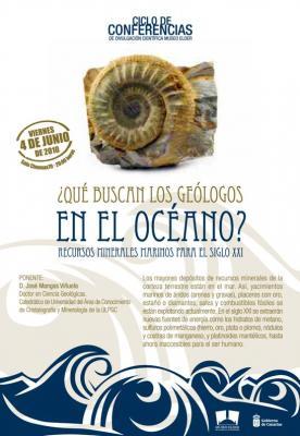 """Museo Elder: conferencia """"¿Qué buscan los geólogos en el océano?"""""""