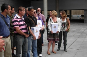 Más de 16.000 firmas contra el teleférico de Tejeda