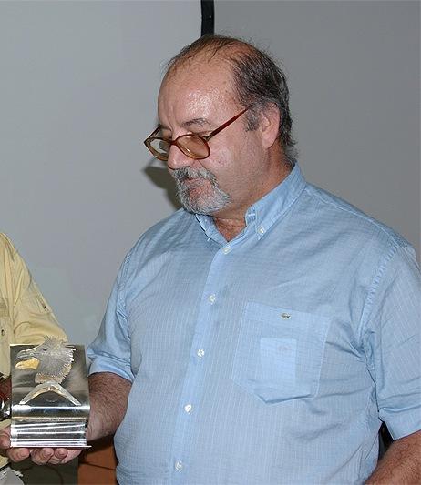 El investigador Luis Felipe López, Premio César Manrique de Medio Ambiente 2010 que entrega el Gobierno canario