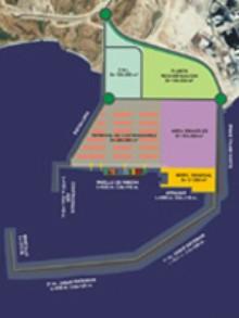 El TSJC avisa de que la suspensión de las obras del puerto sigue vigente