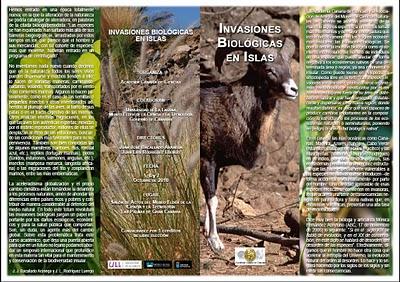 Serie de conferencias sobre Invasiones Biológicas en Canarias