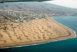 El Cabildo se plantea recuperar la arena de Maspalomas