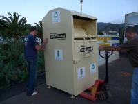 El Ayuntamiento de Tegueste instala contenedores por todo el municipio para la recogida y reciclaje de ropa y calzado
