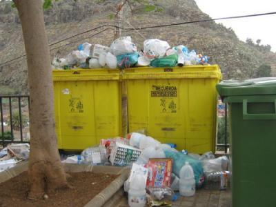 El Complejo Ambiental de Salto del Negro recibe 738 toneladas más de envases ligeros en 2010