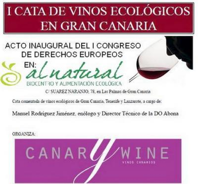 Se celebrará en Gran Canaria la primera cata de vinos ecológicos.