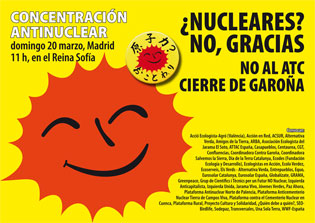 Próximo domingo 20 de marzo, a las 11 h., en el Museo Reina Sofía de Madrid