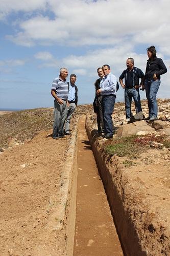 La Reserva de la Biosfera recupera la histórica atarjea del pueblo de Las Parcelas