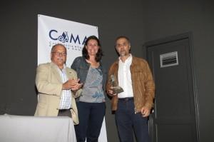 El profesor Ricardo Haroun, Premio Atlántico de Medio Ambiente 2011 en Fuerteventura