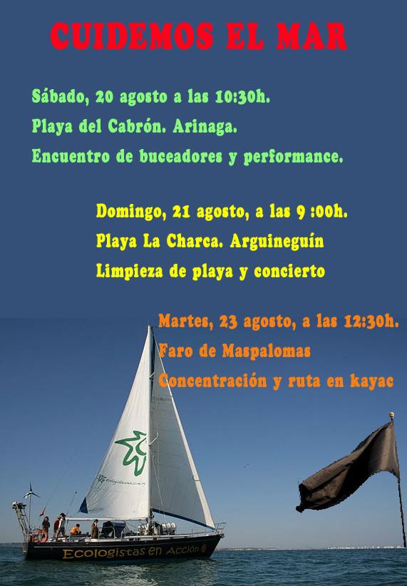 Campaña Banderas Negras de Canarias,
